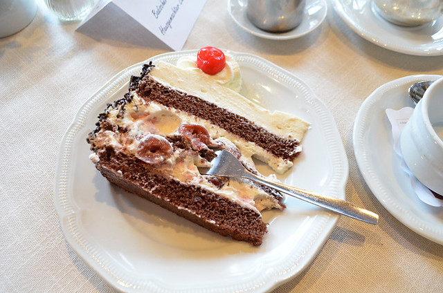 Black Forest gateau, Black Forest