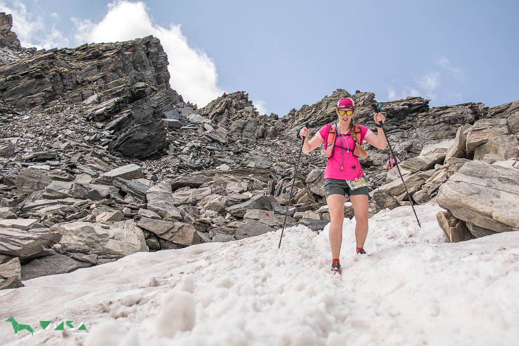 The start of the snow field after the technical descent from Kapruner Torl | (c) wusaonthemountain.at
