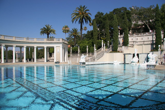 Neptune pool at hearst castle flickr photo sharing for Castle gardens pool