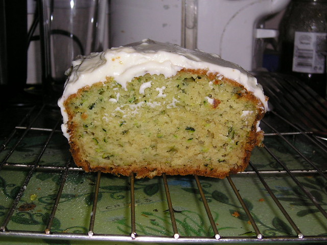 Lemon Courgette Cake Traybake