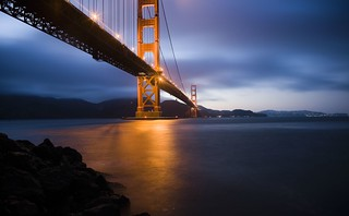 Golden Gate Bridge at Dusk, Dedicated to My Good Friend Robert Scoble | by Thomas Hawk