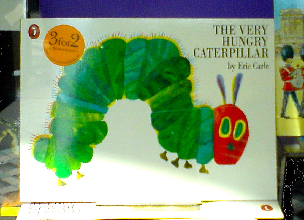 Very Hungry Caterpillar Crafts For Toddlers