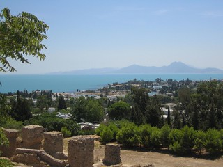 View from the Roman necropolis, Carthage | by StartAgain