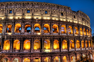 Colosseum by Candlelight | by Stuck in Customs