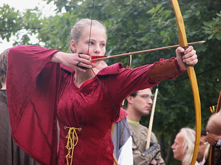 8th open Archeon Longbow shoot | by hans s