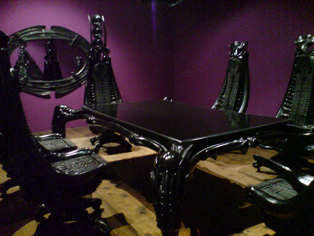 Gothic Dining Room Furniture Harkonnen M 246 Bel By H R Giger Www Hrgiger Com Chairs