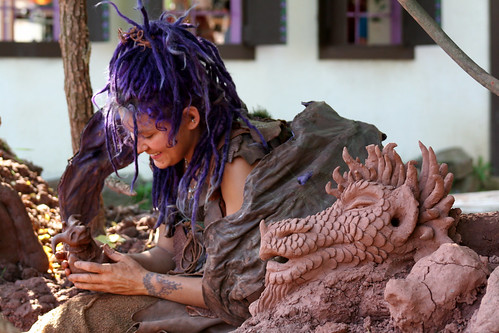 Mud Faery and Her Creations | by Haylstorm's Head