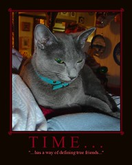 Time... | by martian cat