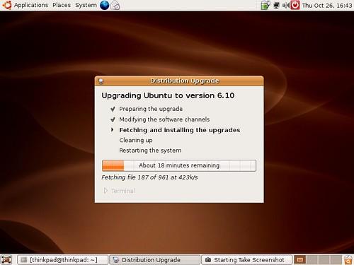 ubuntu 6.10