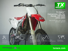TX RACE™ Conversion Kit® for Honda CRF450R 2002 2003 2004