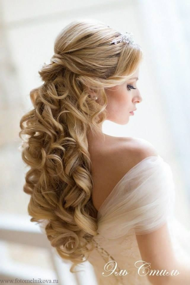 Wedding Hairstyle For Long Hair Cinderella Hair Maybe M Flickr