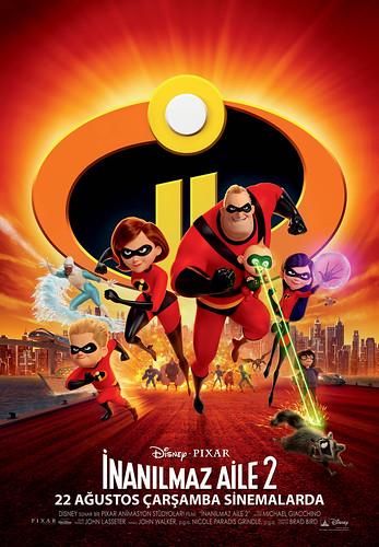 İnanılmaz Aile 2 - Incredibles 2 (2018)