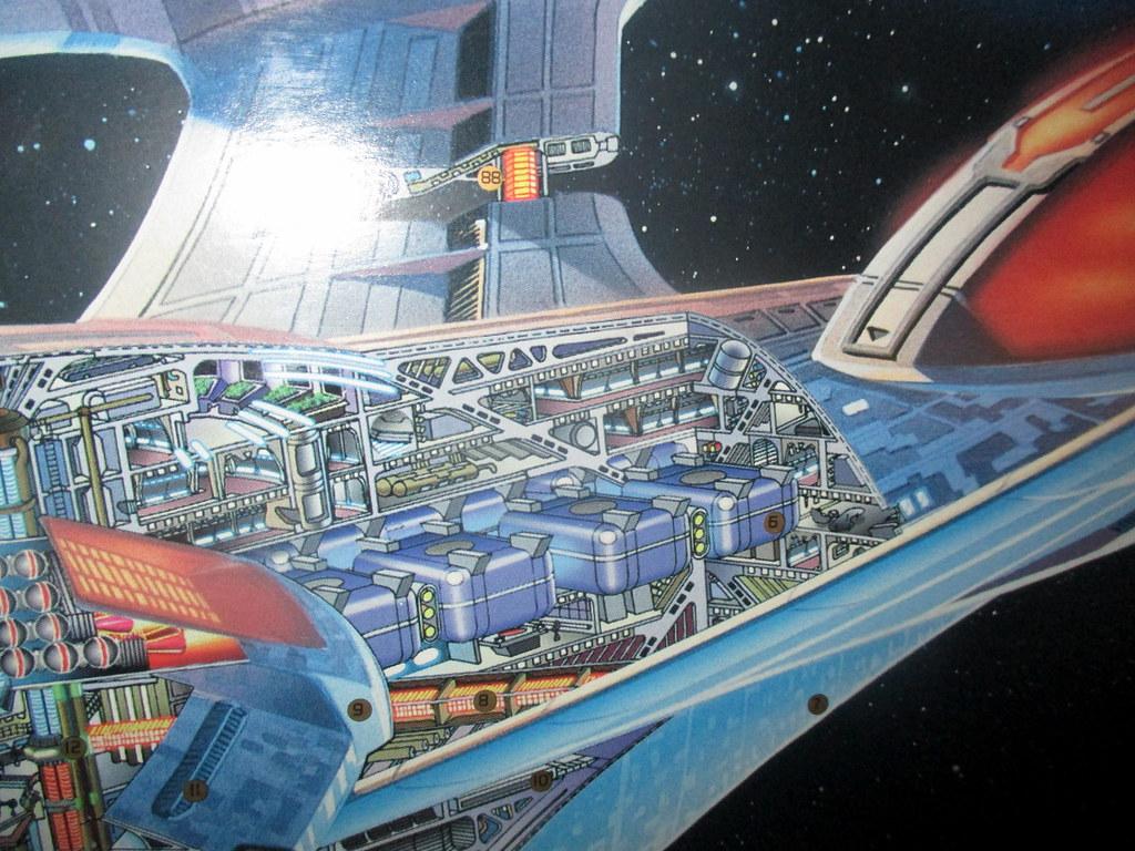 deuterium storage tank section of uss enterprise ncc 1701 flickr