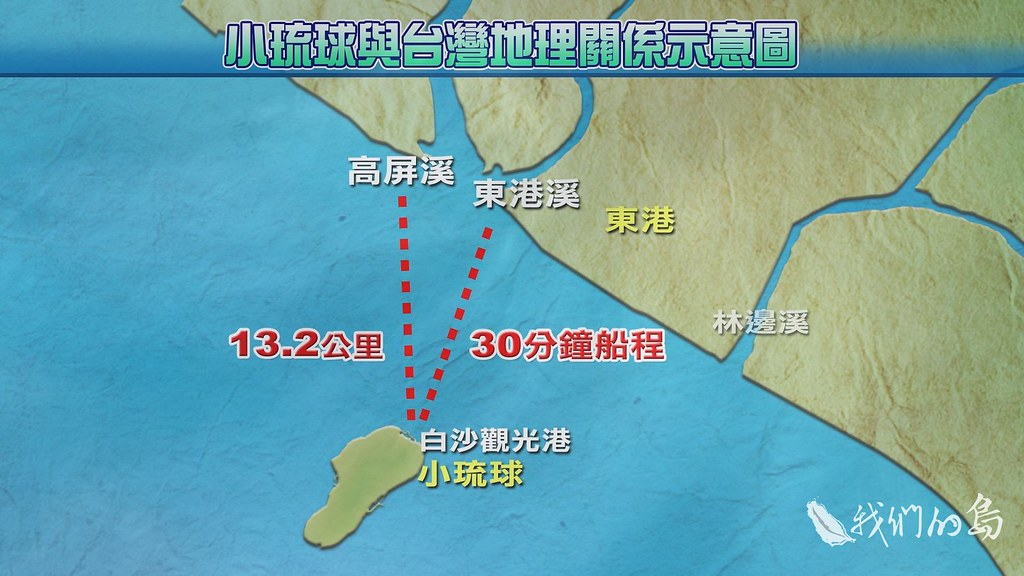 965-1-19s小琉球的海漂垃圾大多來自高屏溪和東港溪,因為颱風或是西南氣流把垃圾沖向小琉球。