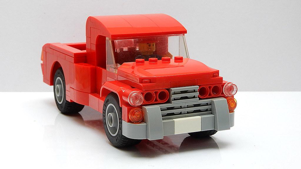 Vintage American Pickup Truck (MOC - 4K) | youtu.be/4nh5F3V1 ...