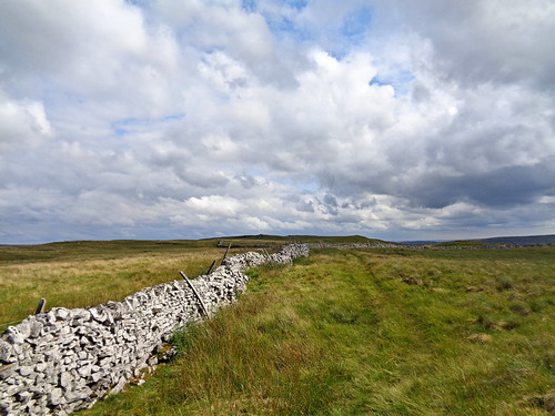 Following the wall on Horse Head Moor