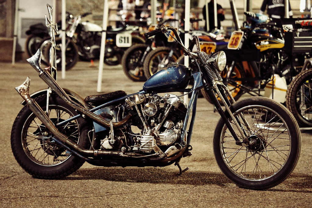 knucklehead chopper love everything about this old