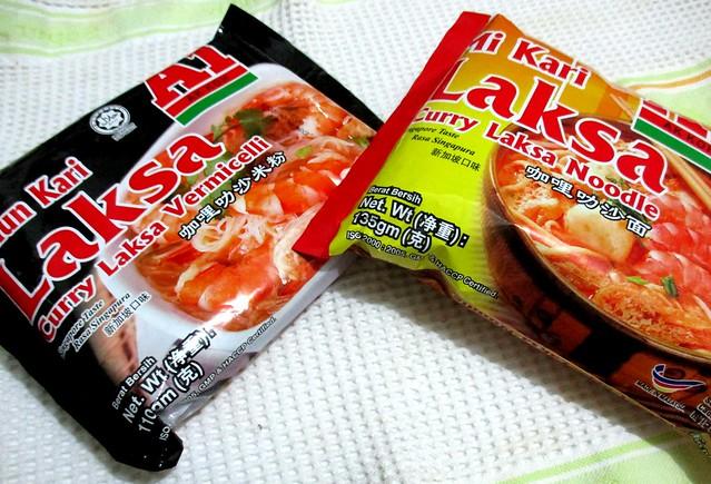A1 Ak Koh curry laksa noodles & vermicelli