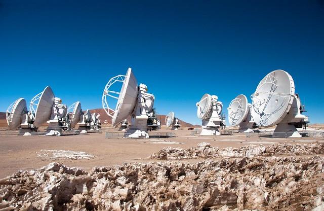VCSE - Az ALMA rádiótávcső rendszer