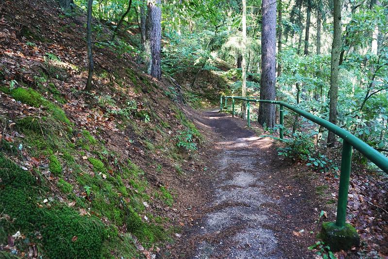 path in Karlovy Vary