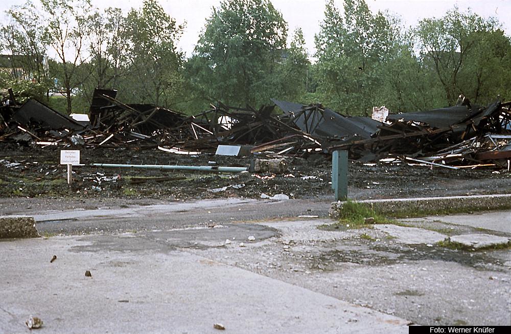 Abriss des Bw Stolberg
