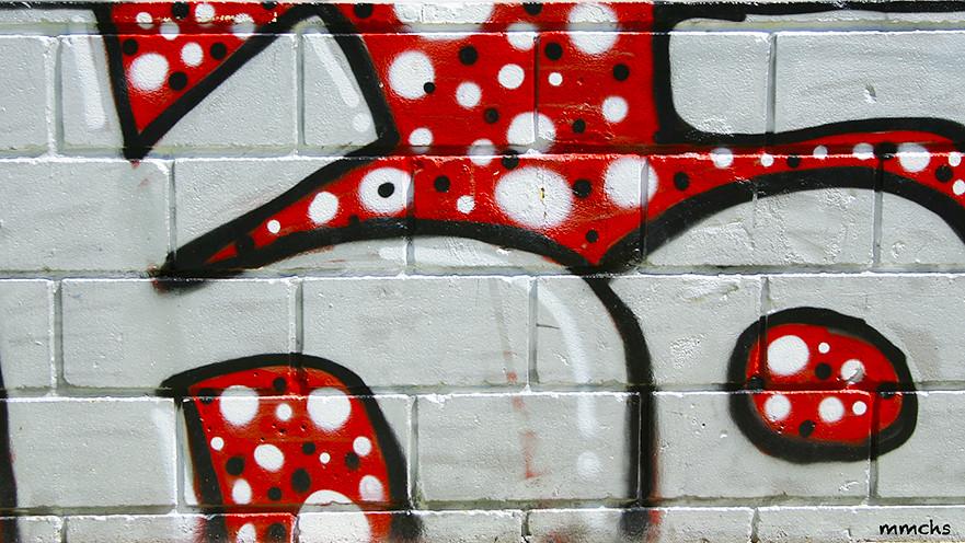 grafiti rojo