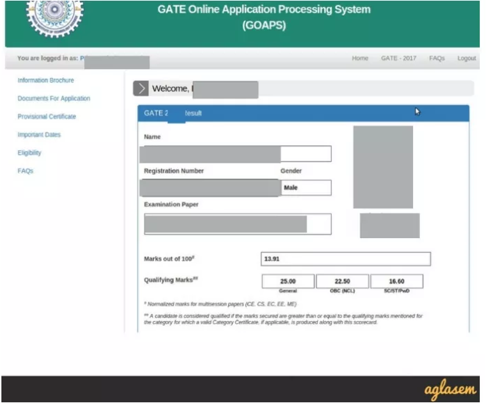 GATE 2019: Form Correction, Mock Test, Admit Card