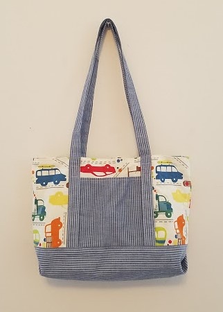 The Library Tote - My New Pattern | by DanaK~WaterPenny