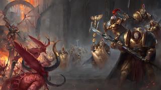 Крис Райт «Хранители Трона: Легион Императора», обои для рабочего стола, 2560x1440
