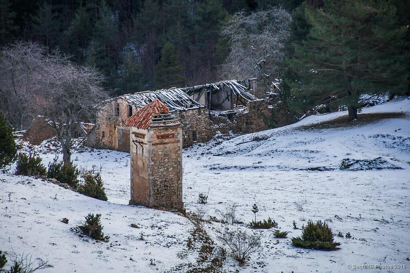 Ruinas de la Cantina de Peguera