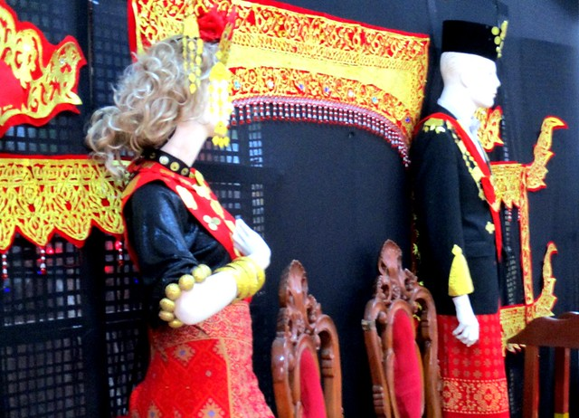 Melanau traditional costumes