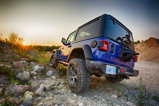 Jeep flexing in the quarry | by Robin Earl
