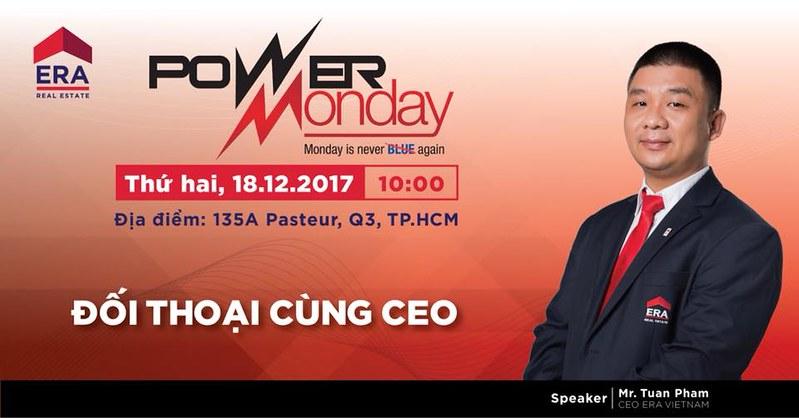 Chương Trình Power Monday - Đối Thoại Cùng CEO.