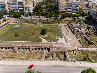 Roman forum and ancient Agora in Thessaloniki | by marcoverch