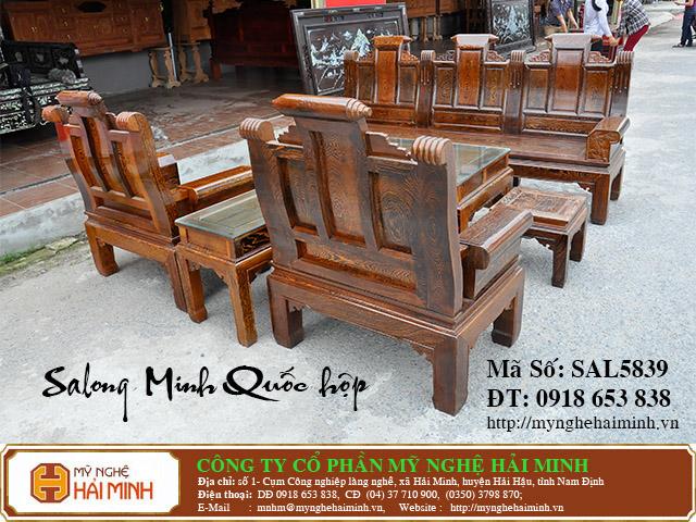 SAL5839f Salong Minh Quoc hop do go my nghe hai minh