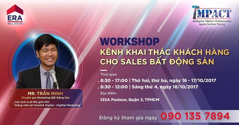 Workshop - Kênh Khai Thác Khách Hàng Cho Sales Bất Động Sản