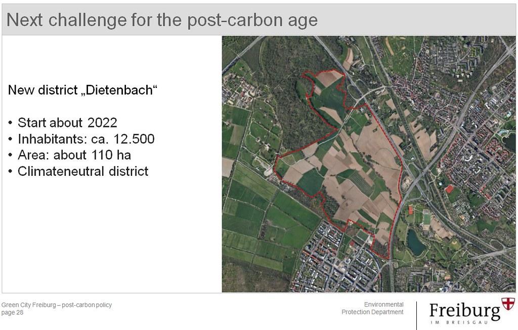 氣候中和社區Dietenbach預計2022年開始興建,已進入評選程序