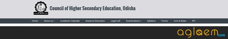 Odisha 12th Admit Card 2019