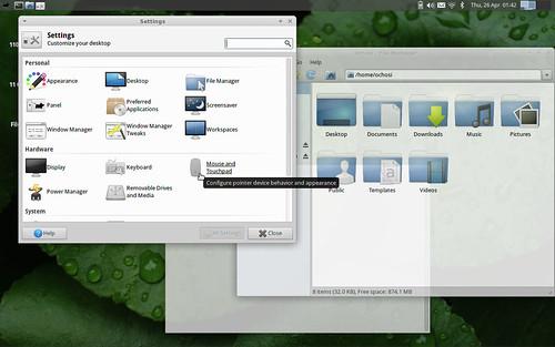 XFCE-4-10-Desktop