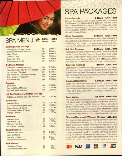 Brochure Oasis Spa Chiang Mai Thailand 3