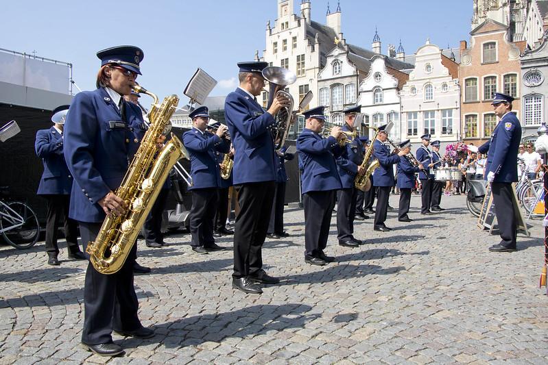 Nationale Feestdag België met Koninklijke Harmonie Politie Mechelen