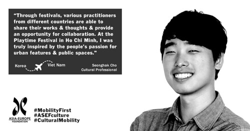 Seonghak Cho testimonial | by Asia-Europe Foundation