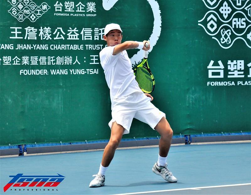 曾俊欣晉級美網男單16強。(資料照,張哲郢/攝)