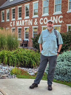 Ed, outside the Martin Guitar Factory | by Ed Rosack