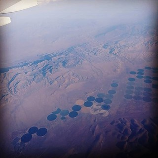 Crop circles in Nevada | by carlossg