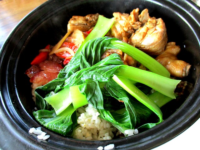 Caffeine Cafe claypot chicken rice