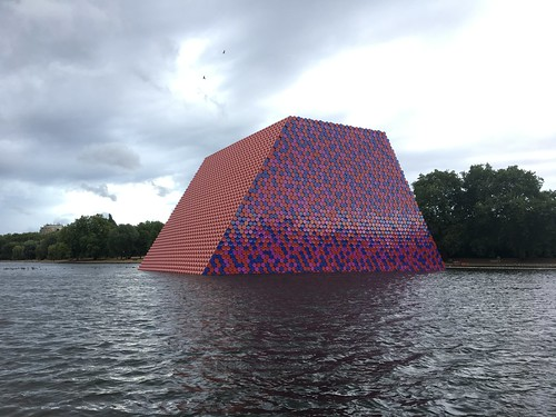The London Mastaba, Serpentine | by Ben Terrett