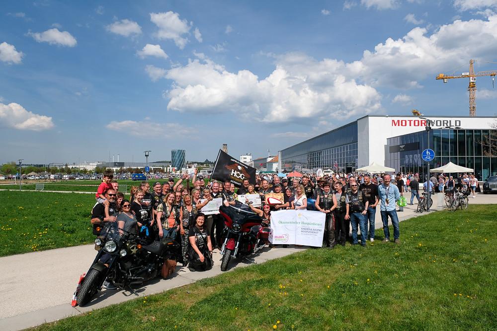 Airfield-Chapter, Carity Donation April 2018, Motorworld Böblingen