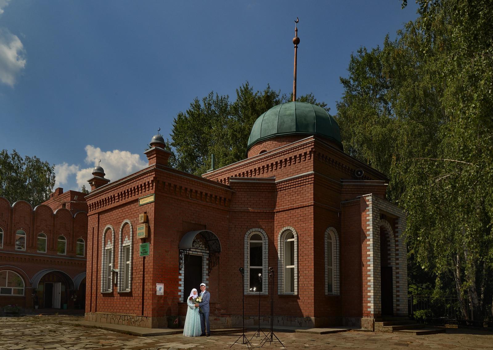 свадебный фотограф Челябинск - Мечеть Исмагила, Челябинск
