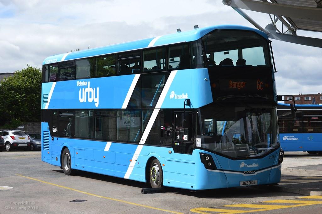*Brand New* Translink Ulsterbus Urby 3105 | Translink ...